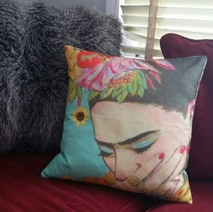 Frida Pillowcase 18x18